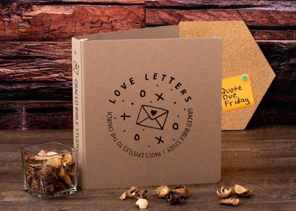 Sample Silk Screen Print EarthBinder - Love Letters