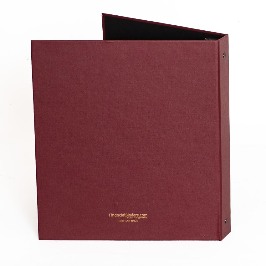 Cloth Cover Estate Planning Binder