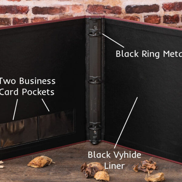 Cloth Financial Binders - Interior Features
