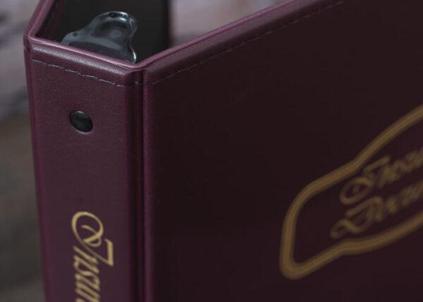 Freeport-Burgundy-Insurance Documents-Corner Detail