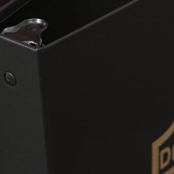 Arrestox-Black-Legal Documents-Corner Detail