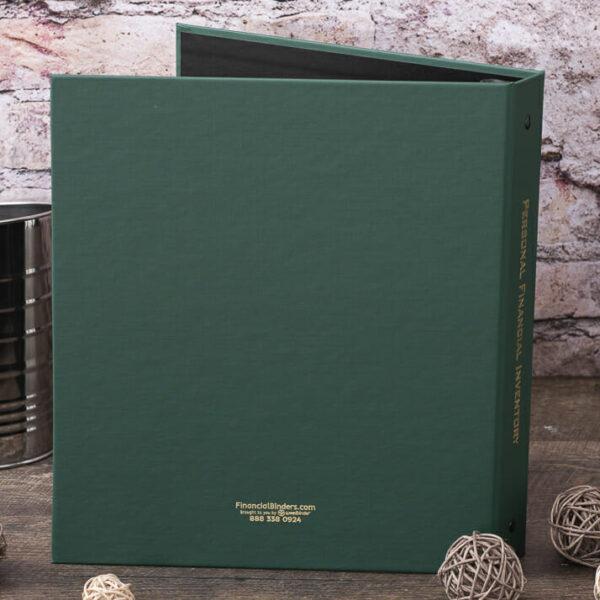Arrestox-Green-Personal Financial Inventory-Back