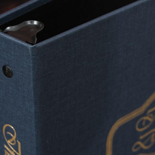 Arrestox-Blue-Insurance Documents-Corner Detail