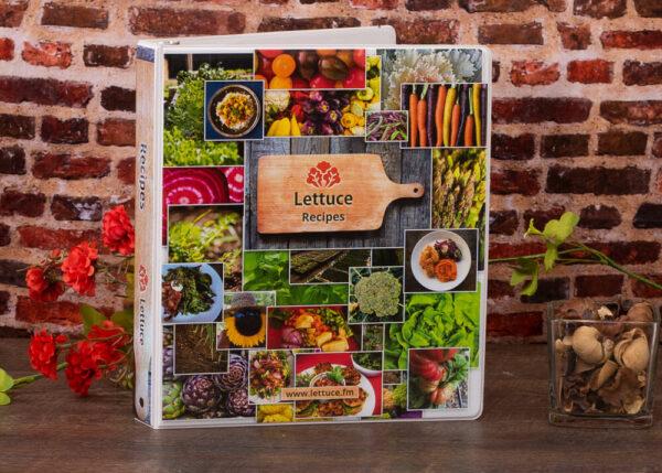 Lettuce Full Color Binder Sample