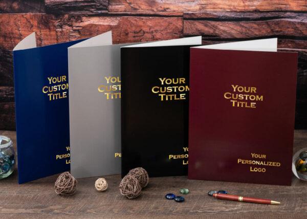 Custom Color Pocket Folder - Color Selection